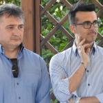 R.Rigotto, sindaco Villanova M. e D. Girotto, sindaco Gavello